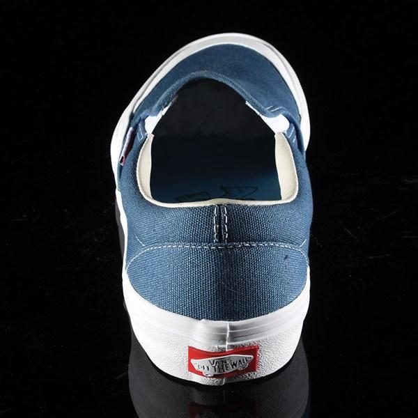 Vans Slip On Pro Shoes Navy (Andrew Allen) Rotate 12 O'Clock
