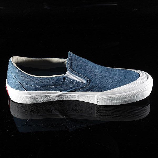 Vans Slip On Pro Shoes Navy (Andrew Allen) Rotate 3 O'Clock