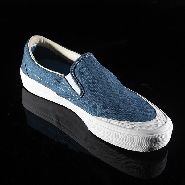 Vans Slip On Pro Shoes Navy (Andrew Allen) Rotate 4:30