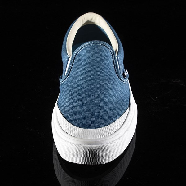 Vans Slip On Pro Shoes Navy (Andrew Allen) Rotate 6 O'Clock