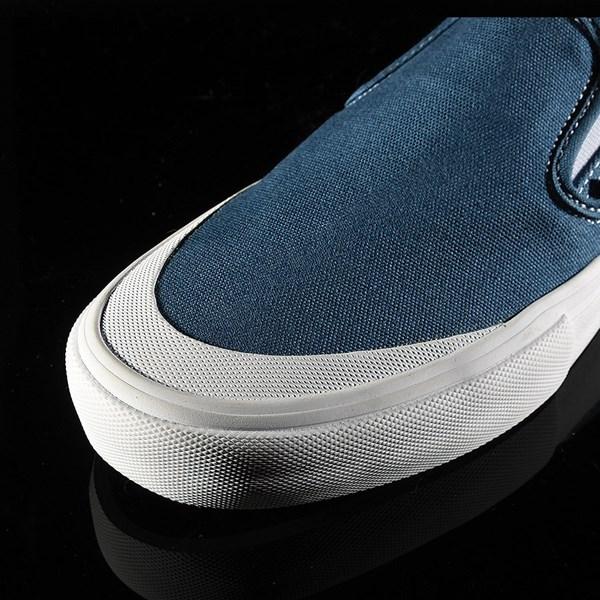 Vans Slip On Pro Shoes Navy (Andrew Allen) Closeup