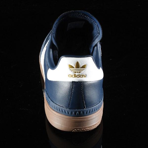 adidas Samba ADV Shoe Navy, White, Gum Rotate 12 O'Clock
