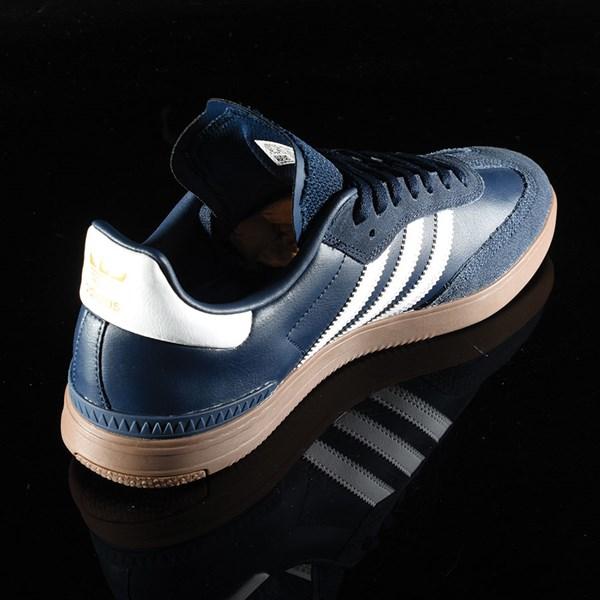 adidas Samba ADV Shoe Navy, White, Gum Rotate 1:30
