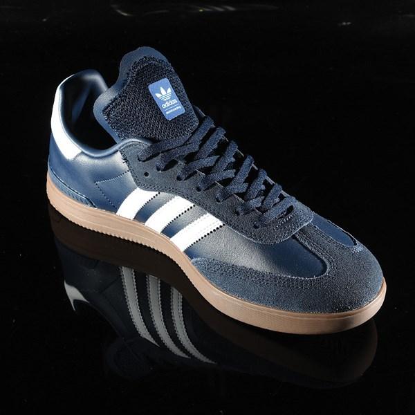 adidas Samba ADV Shoe Navy, White, Gum Rotate 4:30