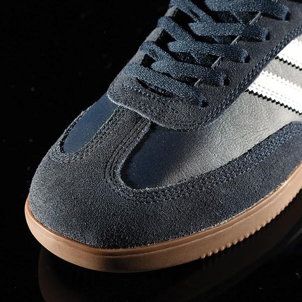 adidas Samba ADV Shoe Navy, White, Gum Closeup
