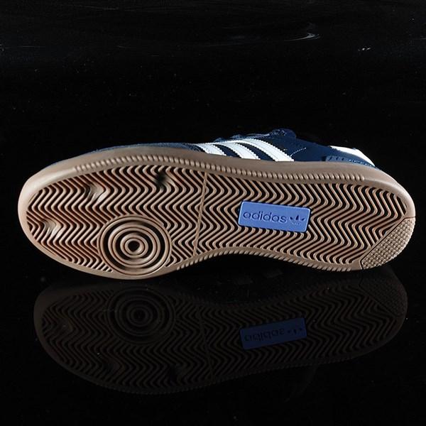 adidas Samba ADV Shoe Navy, White, Gum Sole