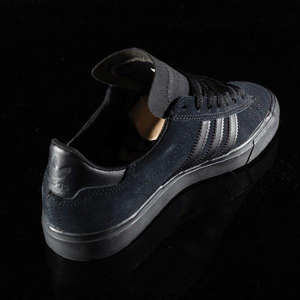 adidas Campus Vulc II Shoe Black, Black, Black Rotate 1:30