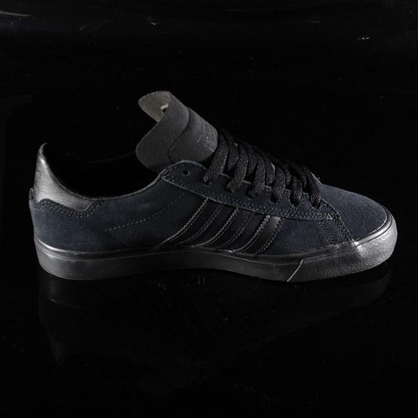 adidas Campus Vulc II Shoe Black, Black, Black Rotate 3 O'Clock