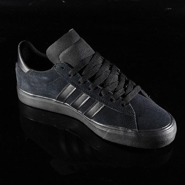 adidas Campus Vulc II Shoe Black, Black, Black Rotate 4:30