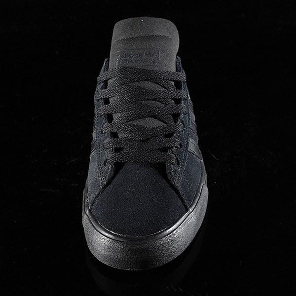 adidas Campus Vulc II Shoe Black, Black, Black Rotate 6 O'Clock