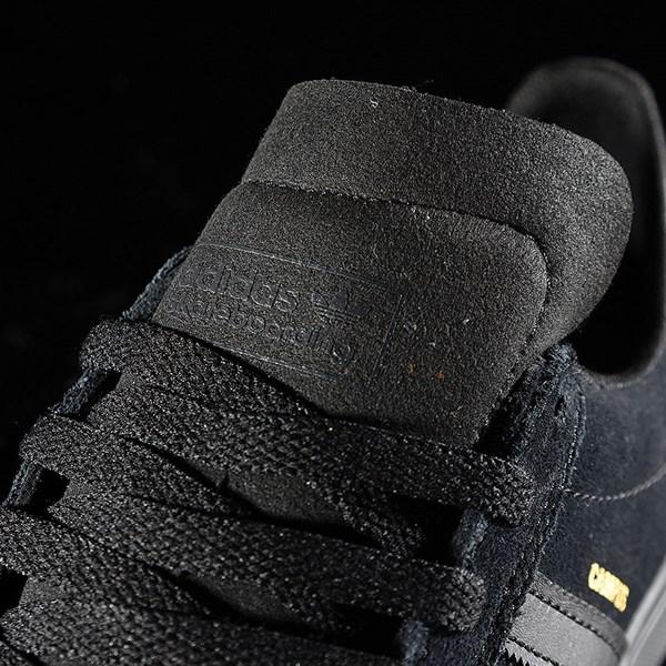 adidas Campus Vulc II Shoe Black, Black, Black Tongue