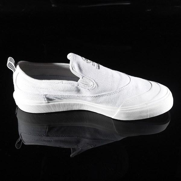 adidas Matchcourt Slip Shoes White, White Rotate 3 O'Clock
