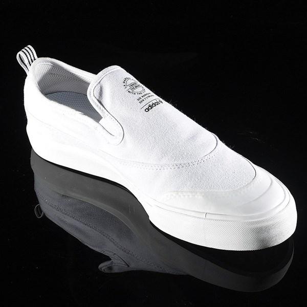 adidas Matchcourt Slip Shoes White, White Rotate 4:30