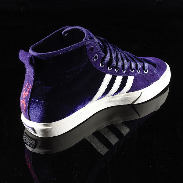 adidas Matchcourt RX Na-Kel Shoes Dark Purple, Ecru, Metallic Gold Rotate 1:30