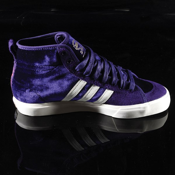 adidas Matchcourt RX Na-Kel Shoes Dark Purple, Ecru, Metallic Gold Rotate 3 O'Clock