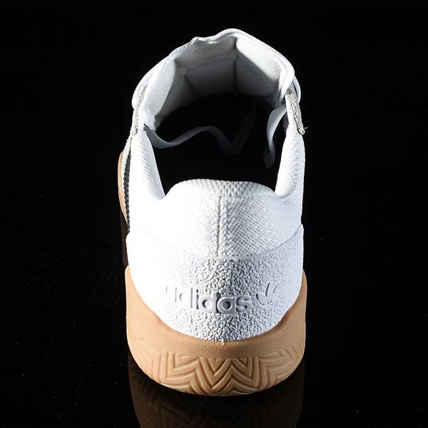 adidas City Cup Shoe White, Black, Gum Rotate 12 O'Clock