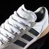 adidas City Cup Shoe White, Black, Gum Tongue