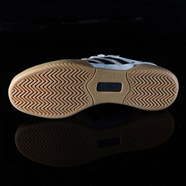 adidas City Cup Shoe White, Black, Gum Sole