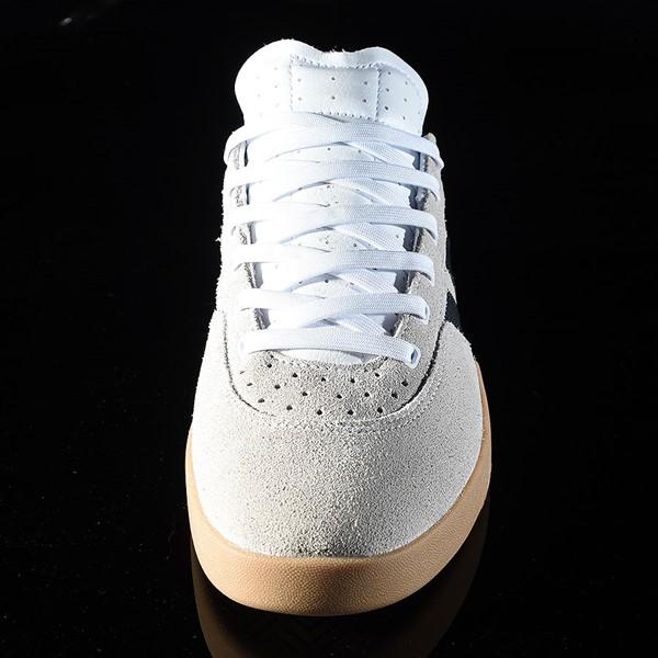 adidas City Cup Shoe White, Black, Gum Rotate 6 O'Clock