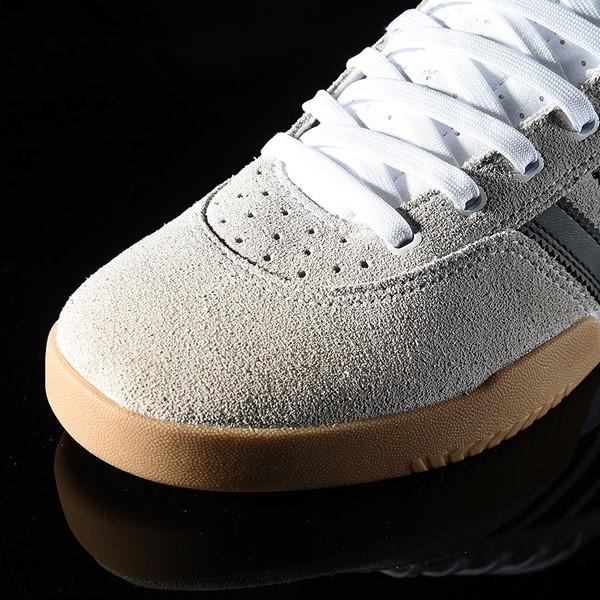 adidas City Cup Shoe White, Black, Gum Closeup