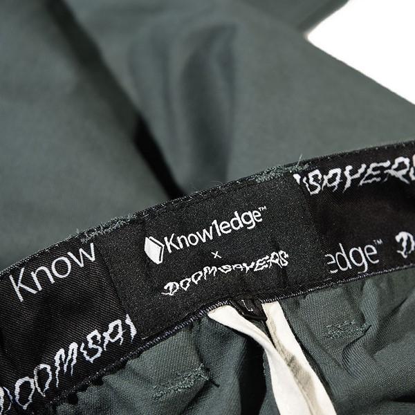 Doom Sayers DSC X Knowledge Bob Shorts Blue Tag
