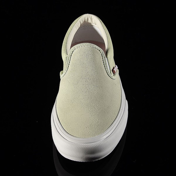 Vans Slip On Pro Shoes Ambrosia, White Rotate 6 O'Clock