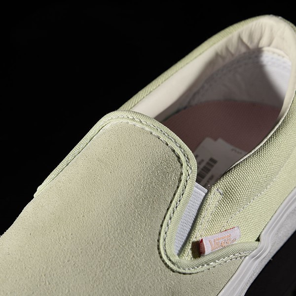 Vans Slip On Pro Shoes Ambrosia, White Tongue