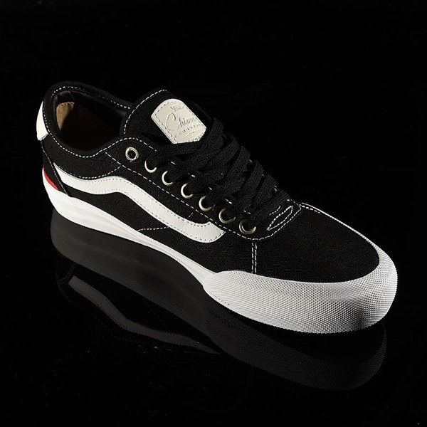 Vans Chima Pro 2 Shoe Black Canvas, White Rotate 4:30