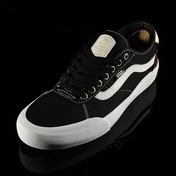 Vans Chima Pro 2 Shoe Black Canvas, White Rotate 7:30