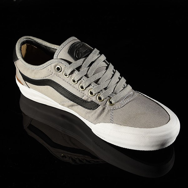 Vans Chima Pro 2 Shoe Drizzle, Black, White Rotate 4:30