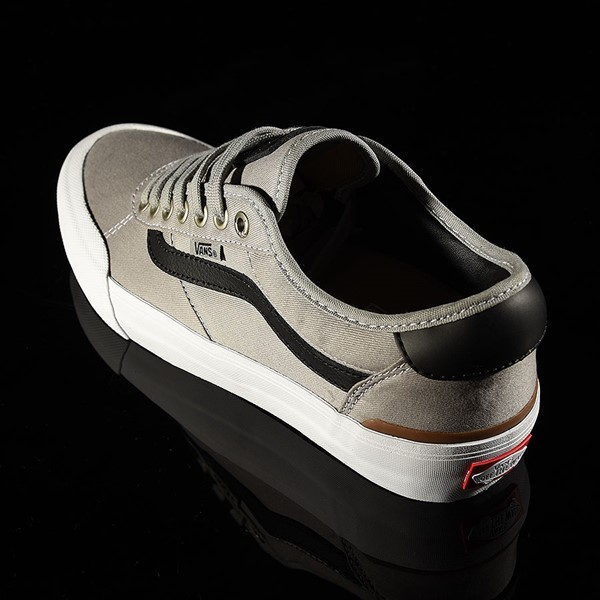 Vans Chima Pro 2 Shoe Drizzle, Black, White Rotate 7:30