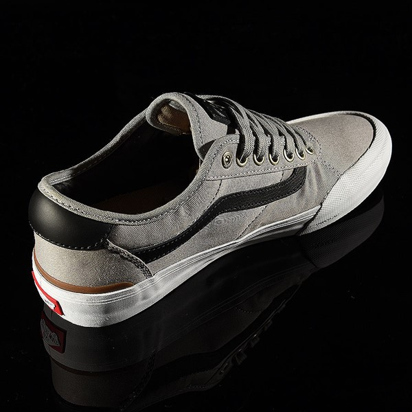 Vans Chima Pro 2 Shoe Drizzle, Black, White Rotate 1:30