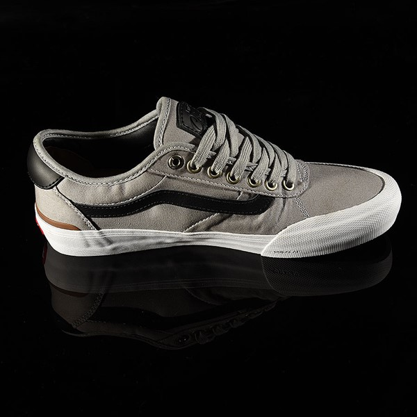 Vans Chima Pro 2 Shoe Drizzle, Black, White Rotate 3 O'Clock