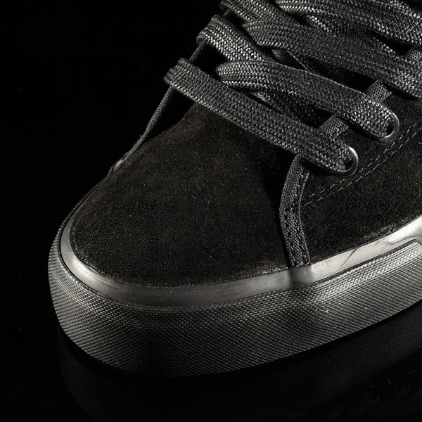 adidas Matchcourt Low RX Shoes Marc Johnson, Black, Black, Metallic Silver Closeup