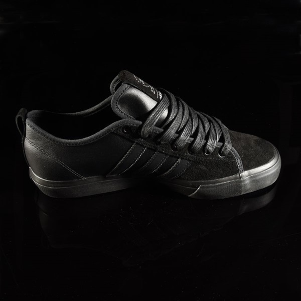 adidas Matchcourt Low RX Shoes Marc Johnson, Black, Black, Metallic Silver Rotate 3 O'Clock
