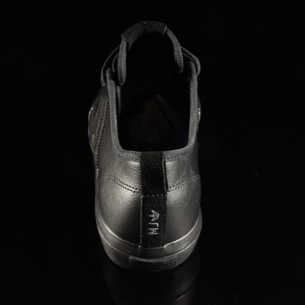adidas Matchcourt Low RX Shoes Marc Johnson, Black, Black, Metallic Silver Rotate 12 O'Clock
