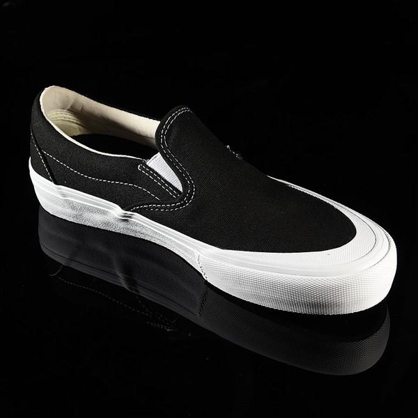 Vans Slip On Pro Shoes Black, White, Toe-Cap Rotate 4:30