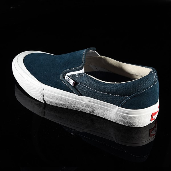 Vans Slip On Pro Shoes Reflecting Pond, Toe-Cap Rotate 7:30