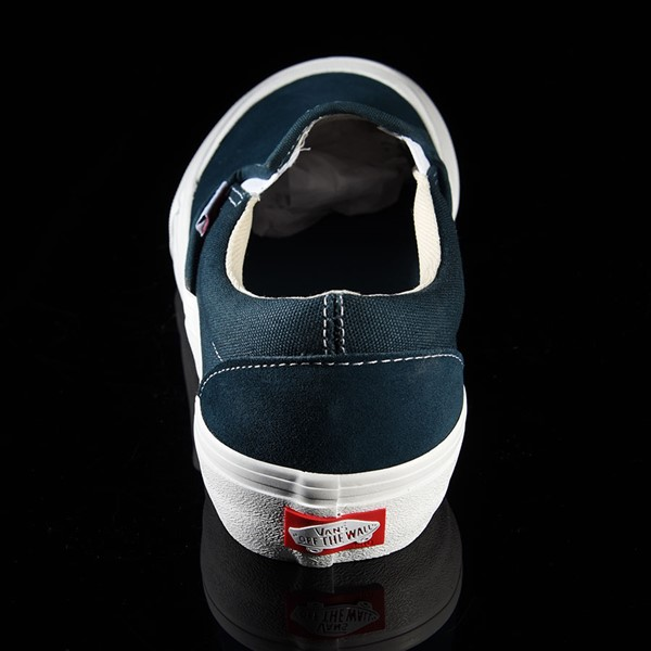 Vans Slip On Pro Shoes Reflecting Pond, Toe-Cap Rotate 12 O'Clock