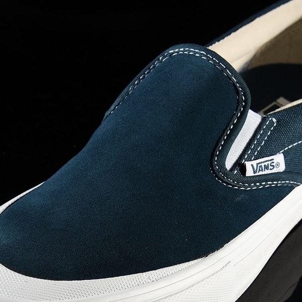 Vans Slip On Pro Shoes Reflecting Pond, Toe-Cap Tongue