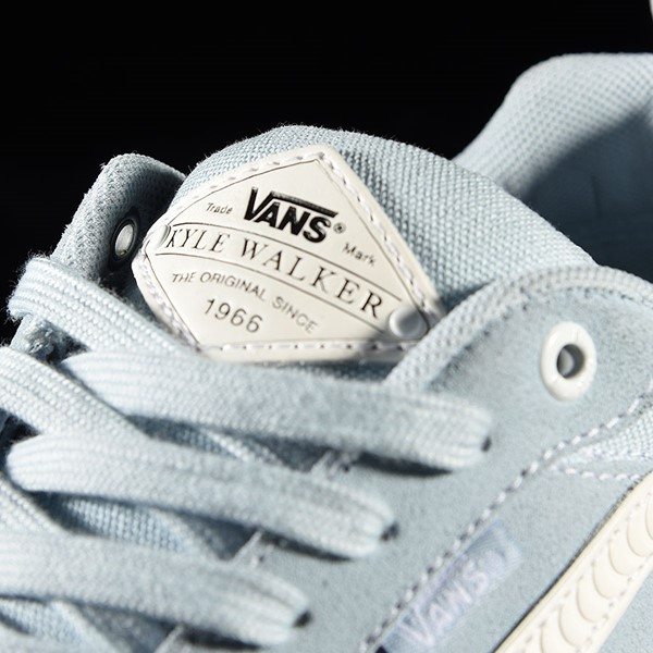 Vans Kyle Walker Pro Shoes Baby Blue, White, Spitfire Tongue