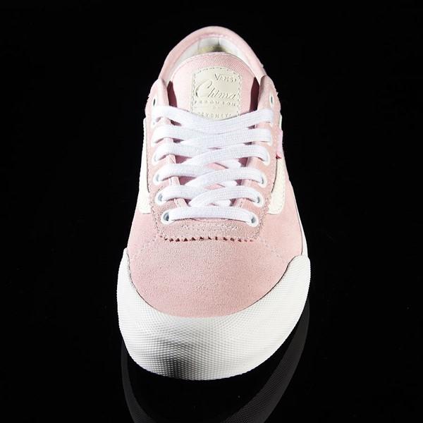Vans Chima Pro 2 Shoe Pink, White, Spitfire Rotate 6 O'Clock