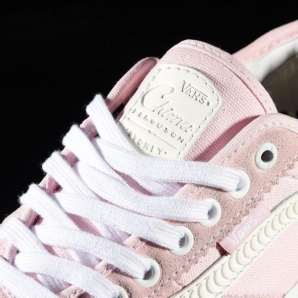 Vans Chima Pro 2 Shoe Pink, White, Spitfire Tongue
