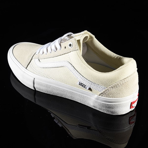 Vans Old Skool Pro Shoes White Rotate 7:30