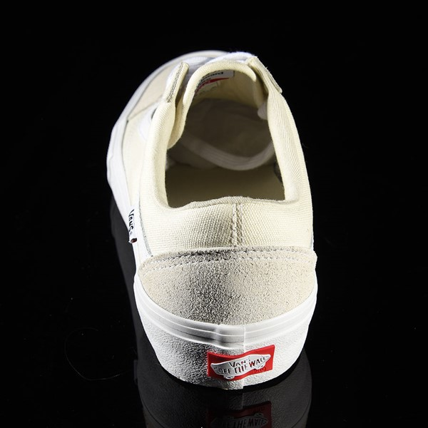 Vans Old Skool Pro Shoes White Rotate 12 O'Clock