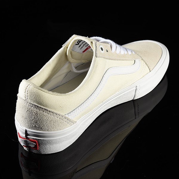 Vans Old Skool Pro Shoes White Rotate 1:30