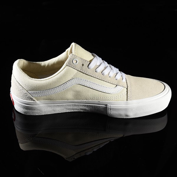 Vans Old Skool Pro Shoes White Rotate 3 O'Clock