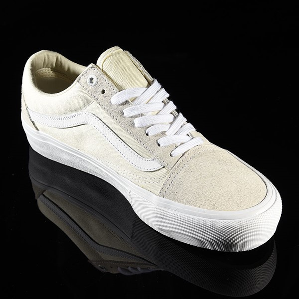 Vans Old Skool Pro Shoes White Rotate 4:30