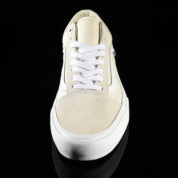 Vans Old Skool Pro Shoes White Rotate 6 O'Clock