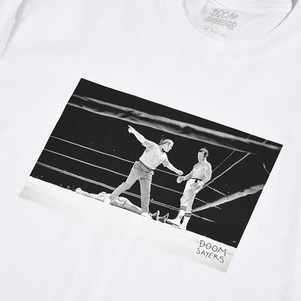 Doom Sayers Knockout T Shirt White Detail